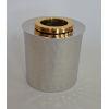 This item: Nickel Gold Ring Round Tissue Box
