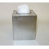 This item: Frosted Nickel Gold Trimmed Tissue Box