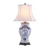 This item: Blue and White Vase Table Lamp
