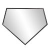 This item: Quintin Brushed Black Wall Mirror