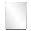 This item: Steele Brushed Silver Wall Mirror