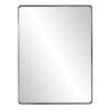 This item: Steele Brushed Black Wall Mirror