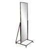 This item: Albany Brushed Brass Standing Mirror