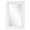 This item: George Matte White Rectangular Mirror