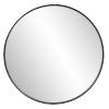 This item: Copenhagen Brushed Black Round Wall Mirror