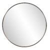 This item: Copenhagen Brushed Brass Round Wall Mirror