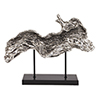 This item: Silver Plated Log Replica on Metal Stand