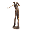 This item: Bronze Swinging Golf Player