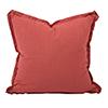 This item: Davida Kay Linen Slub Poppy 24 x 24 Pillow - Down Insert