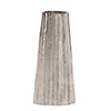 This item: Silver Chiseled Metal Vase