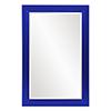 This item: Avery Glossy Royal Blue Mirror
