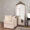 This item: Tudor Silver Floor Mirror