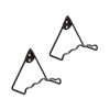 This item: Roman Bronze Powdercoat 5-Inch Plate Wall Hanger, Set of Two
