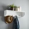 This item: Harper White Entryway Shelf
