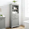 This item: Lydia Gray Tall Cabinet
