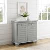 This item: Lydia Gray Linen Hamper