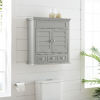 This item: Lydia Gray Wall Cabinet
