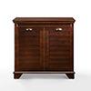 This item: Lydia Espresso Fiber Board and Birch Veneer Bathroom Hamper