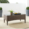 This item: Rockport Brown Outdoor Wicker Coffee Table