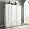 This item: Harper White Pantry Closet, 3-Piece