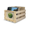 This item: Beatles Apple 14-Inch Record Storage Crate