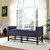 This item: Claremont Upholstered Bench in Navy