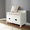 This item: Fremont Entryway Bench in Distressed White