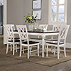 This item: Shelby 7 Piece Dining Set in White Finish
