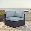 This item: Biscayne Corner Chair With Mist Cushions