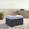 This item: Biscayne Ottoman With Mist Cushions
