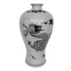 This item: Dorete Black and White 24-Inch Urn Vase