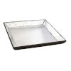 This item: Waverly Mirrored Mirrored Square Tray