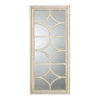 This item: Glister Cream Paneled Mirror