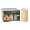 This item: Urial Ivory Led Candle with Remote Box, Medium - Set of 6
