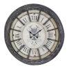 This item: Randall Antique Gray Wall Clock