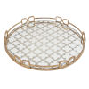 This item: Valentina Vintage Gold Decorative Tray, Large