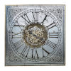 This item: Arria Randall Antique Silver Square Wall Clock