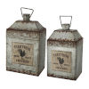 This item: Silver And Rust Pot, Set of 2