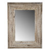 This item: Colfax Antique White Wall Mirror