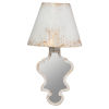 This item: Swithun Antique White and Gold One-Light Wall Scomce
