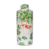 This item: Lovise Green And White Flamingo Jar