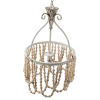 This item: White 14-Inch One-Light Chandelier