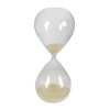 This item: Beige Sand And Clear 120 Minute Hour Glass
