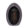 This item: Black And Gold Jellyfish Glass Egg Decorative Object