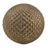 This item: Iron Ore 12-Inch Modern Copper Decorative Ball