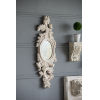 This item: Antique White Scrollwork Design Wall Mirror