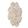 This item: Weathered Cream Floral Wall Decor