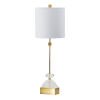 This item: Gold and Clear One-Light Diamond Cut Crystal Buffet Lamp