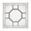 This item: Irving Weathered Gold Decorative Square Mirror