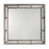 This item: Irving Antique White Square Framed Mirror